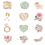 Mint To Be Cut-Outs - 12 PKG/12