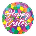 Easter Confetti Standard HX Foil Balloons S40 - 5 PC