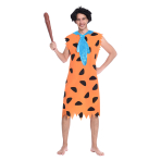 Fred Flintstone Costume - Size Large - 1 PC