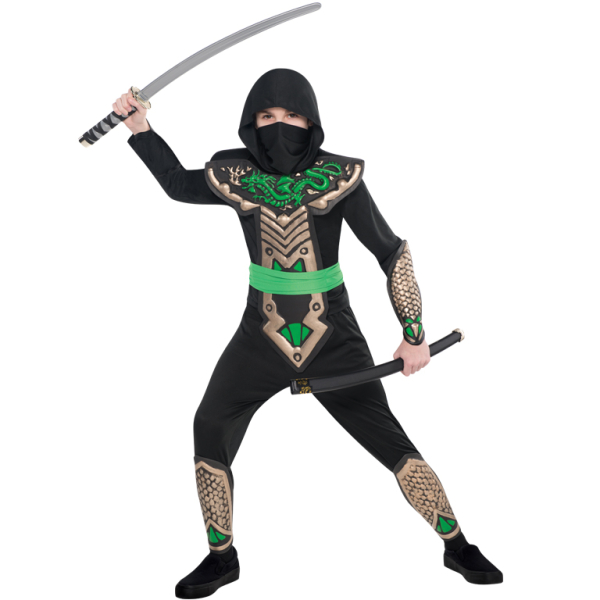 Children Dragon Slayer Ninja Costume - Age 4-6 Years - 1 PC  sc 1 st  Amscan & Children Dragon Slayer Ninja Costume - Age 4-6 Years - 1 PC : Amscan ...