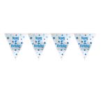 First Birthday Boy Foil Pennant Banners 3.65m x 25.4cm - 6 PC