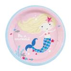 Be a Mermaid Paper Plates 18cm - 10 PKG/8