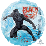 Black Panther Standard Foil Balloons S60 - 5 PC