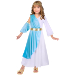 Greek Goddess Costume - Age 10-12 Years - 1 PC