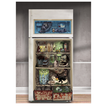 Halloween Fridge Door Covers 1.65m x 85cm - 6 PC
