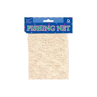 Natural Fishing Net 1.8m x 2.4m - 6 PC