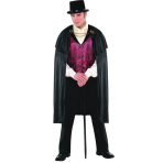 Adults Blood Count Costume - Size Standard/M - 1 PC
