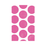 Bright Pink Candy Buffet Polka Dots Treat Bags- 24 PKG/10