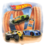 Hot Wheels Panoramic Foil Balloons - P38 5 PC
