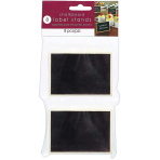 Chalkboard Label Stands - 6 PKG/8