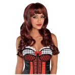 Red Rising Hood Wig - 3 PC