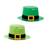 St. Patrick's Day Mini Hats 10cm x 8.2cm - 6 PKG/8