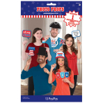 4th of July Patriotic USA Photo Props - 6 PKG/13