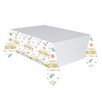 Boho Birthday Girl Paper Tablecovers 1.37m x 2.43m - 6 PC