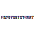 Lego Movie 2 Happy Birthday Letter Banners 1.63m - 6 PC