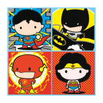 Justice League Luncheon Napkins 33cm - 6 PKG/16