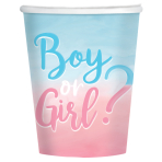 The Big Reveal Paper Cups 250ml - 6 PKG/8