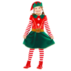 Elf Costume  - Age 6-8 Years - 1 PC