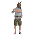 Party Jackass Costume - Size Standard - 1 PC