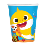 Baby Shark Paper Cups 266ml - 6 PKG/8