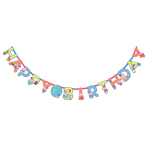 Peppa Pig Jumbo Add-an-Age Letter Banners 3.2m - 6 PC