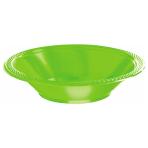 Kiwi Green Plastic Bowls 355ml- 10 PKG/20