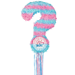 Gender Reveal Pull Pinatas - 4 PC