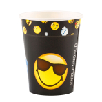SmileyWorld Paper Cups 250ml - 10 PKG/8