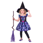 Mythical Witch Sustainable Costume - Age 6-8 Years - 1 PC