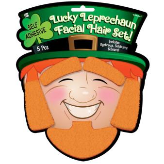 St Patrick's Day Novelty Hair Sets 25.4cm x 17.7cm - 6 PC