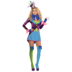Adults Mad Hatter Costume - Size 14-16 - 1 PC