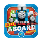 Thomas & Friends Paper Plates 23cm - 6 PKG/8