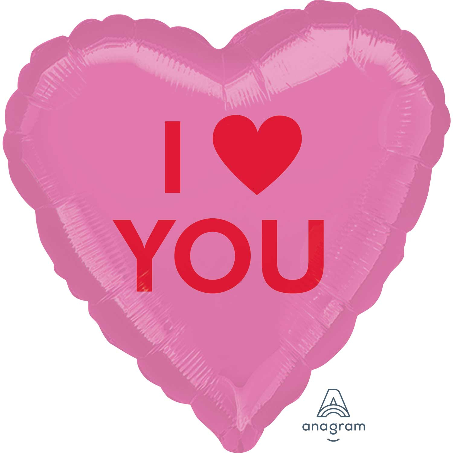 i love you heart candy standard hx foil balloons s40 - 5 pc : amscan