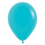 """Fashion Colour Solid Caribbean Blue 038 Latex Balloons 12""""/30cm - 50 PC"""
