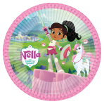 Nella The Princess Knight Paper Plates 23cm - 6 PKG/8