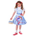 Sustainable Dorothy Costume - Age 8-10 Years - 1 PC