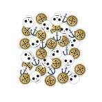 Treasure Island Paper Confetti 14g - 6 PC