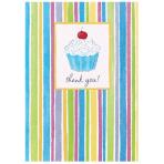 Thank you Card Cupcake - 6 PKG/8