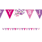 Owls Happy Birthday Letter Banners - 10 PKG