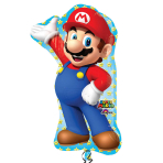 "Super Mario SuperShape 22""/55cm w x 33""/83cm h P38 - 5PC"
