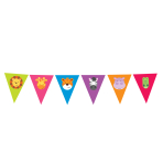 Jungle Friends Pennant Bunting 4m x 21cm - 6 PC
