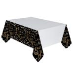 Confetti Celebration Plastic Tablecovers 1.37m x 2.59m - 6 PC