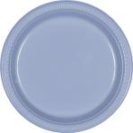 Pastel Blue Plastic Plates 23cm - 10 PKG/10