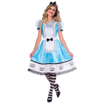 Alice Costume - Size 10-12- 1 PC