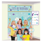 Mermaid Wishes Scene Setters with Props - 6 PKG/17