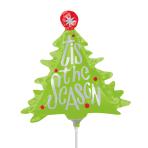 This the Season Tree Mini Shape Foil Balloons A30 - 5 PC