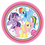 My Little Pony Paper Plates 18cm - 10 PKG/8