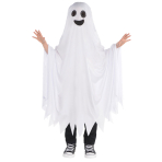 Ghost Cape Costumes - Age Child Standard - 2 PC