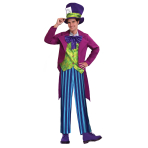 Mad Hatter Costume - Standard Size- 1 PC