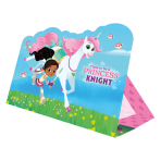 Nella The Princess Knight Stand-up Invitations - 6 PKG/8